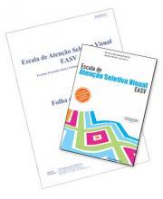 EASV - Kit Completo (c/ 05 Cadernos de Aplicação) - Escala de Atenção Seletiva Visual