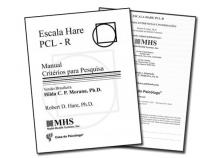 Escala Hare - PCL-R - Kit Completo