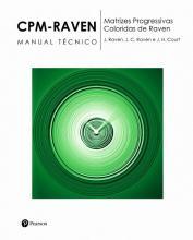 CPM RAVEN - Bloco de Respostas c/25 fls. - Matrizes Progressivas Coloridas de Raven