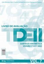 TDE II - Livro de Avaliação Subteste Aritmetica 1º ao 5º ano