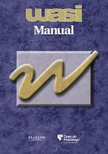 WASI - Livro de Instruções (Manual) - Escala Wechsler Abreviada de Inteligência