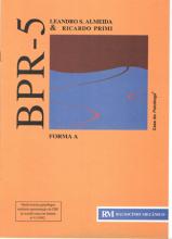 BPR 5 - Bateria de Prova de Raciocínio - Caderno RM Forma A
